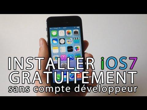 Installer gratuitement iOS 7 Beta sur iPhone, iPod touch & iPad sans compte développeur