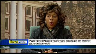 Makhosi Khoza responds to threat of ill-discipline charges