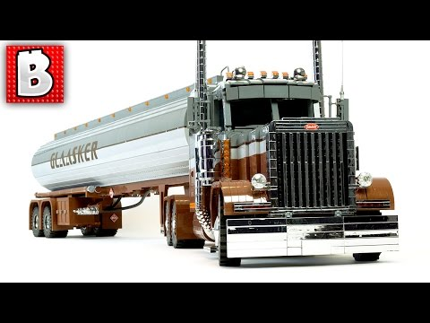 Big LEGO Semi Truck Custom MOC | TOP 10 MOCs