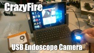CrazyFire Endoscope Inspection Camera