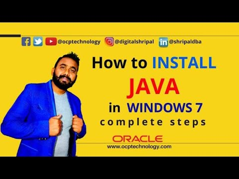 How to install java in windows 7 step by step