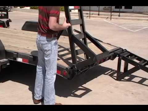 PJ Trailers - Double Hinge Flip Over Ramps