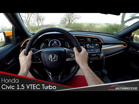 Honda Civic 1.5 VTEC Turbo CVT POV Test Drive + Acceleration 0 - 200 km/h
