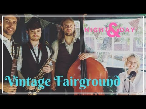 Vintage Fairground // Night And Day // Book Now At Warble Entertainment