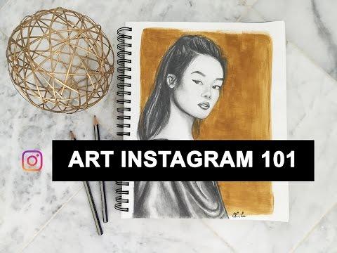 TAKING PHOTOS OF YOUR ART FOR INSTAGRAM || Art Instagram 101 Ep. 01