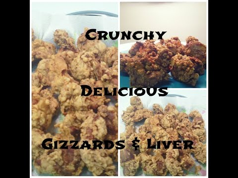 Fried Chicken Liver & Gizzards