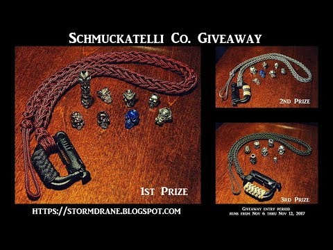 Schmuckatelli Co  Giveaway Time ~ Enter from Nov 6 thru Nov 12, 2017  *Entry period now closed.