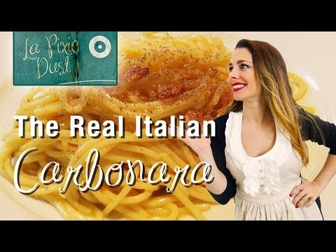 How to Make Spaghetti alla Carbonara | Original Italian Recipe
