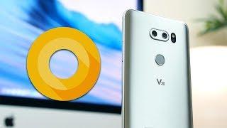 Android 8.0 Oreo On LG V30