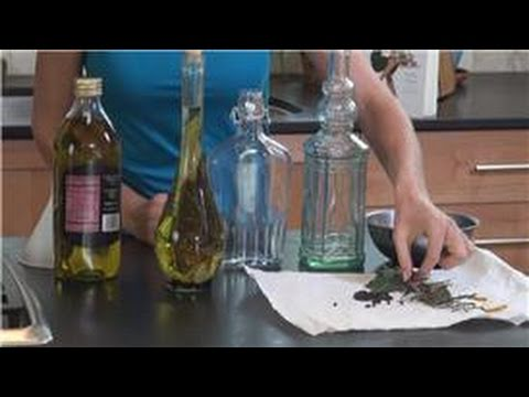 Gorgeously Green UK : How to Make Herb-Infused Oils