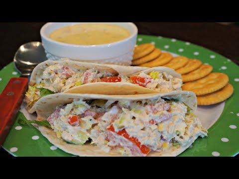 How to make Tuna Salad Pita