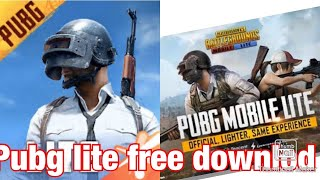 How to download pubg mobile lite in áñdróíd or ios