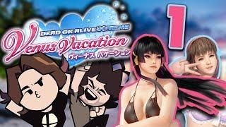 Dead or Alive Venus Vacation: Meeting the Ladies - PART 1 - Game Grumps