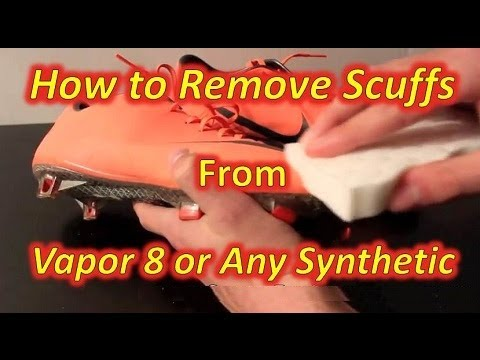 How To Remove Scuffs From Nike Mercurial Vapor VIII (Or Any Other Soccer Shoe)
