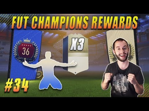 Præcis Det Icon Jeg Ville Have! - FUT Champions Rewards #34 FIFA 18 Ultimate Team