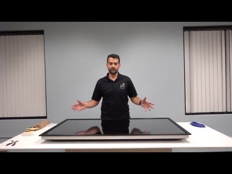 Installing a PQ Labs Touchscreen on a Television