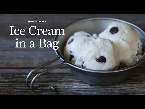 How to Make Ice Cream in a Bag | Sunset