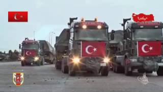 TURKS ARE COMİNG. TURKISH ARMY ARMORED FORCES. IRAQ AND SYRIA BORDER