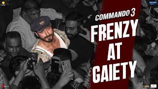 Commando 3 | Frenzy At Gaiety  | Vidyut, Adah, Angira, Gulshan| Vipul Amrutlal Shah| In Cinemas Now