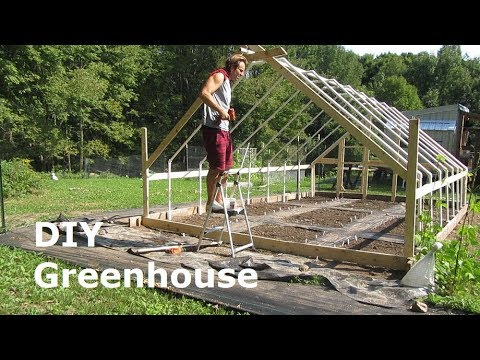 Building a Greenhouse - DIY PVC Greenhouse