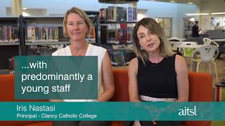 Recognising the value of quality feedback - Clancy Catholic College (clip with captions)