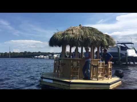 Tiki Hut Boat