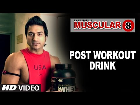 Meal: POST WORKOUT DRINK | Muscular 8 by Guru Mann