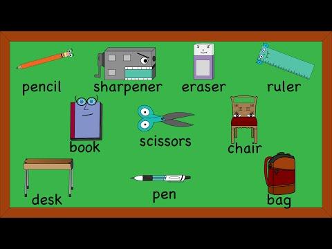 School Supplies Song