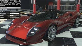 GTA 5 - DLC Vehicle Customization - Lampadati Tigon (De Tomaso  P72) and Review