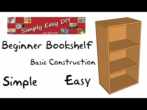 Basic Bookshelf Beginners Guide #1 - ANIMATED