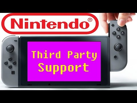Will The Nintendo Switch Get Crappy 3rd Party Support?