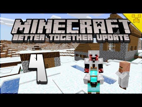 Minecraft   Diamond Hunter & Snow Village!   Minecraft Survival (Bedrock/W10/Pocket Edition/Console)