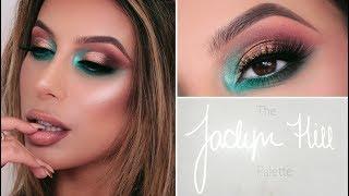 jaclyn hill palette x morphe tutorial