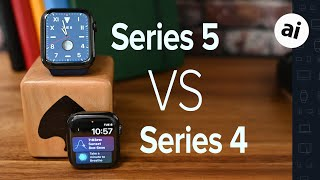 Compared: Apple Watch Series 5 VS Apple Watch Series 4
