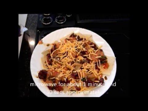 Nachos with Kidney beans