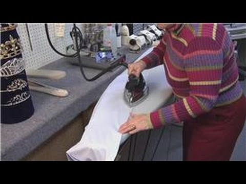 Ironing Tips : How to Iron a Military Shirt