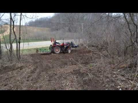 Building a log home Part 1- Clearing the Lot