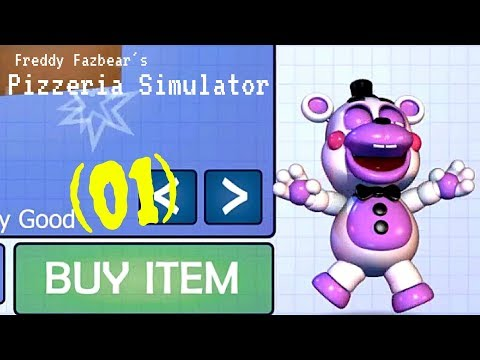 Freddy Fazbear's Pizzeria Simulator (01): New Owner and New Scares! (Family Friendly)