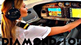 FIRST SOLO FLIGHT Diamond 40 Aircraft | Student PILOT