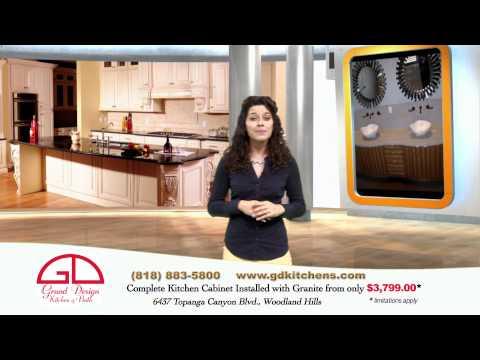 Grand Design Kitchen & Bath Complete kitchen only $3,799