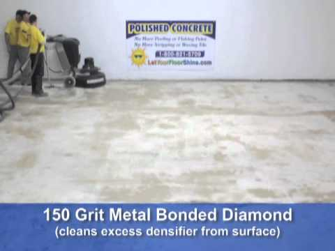 Let Your Floor Shine - Time Lapse Polishing