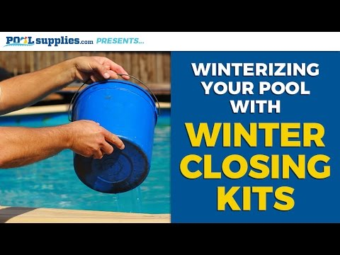 Winterize Your Pool the Right Way with Winter Closing Kits