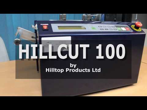 HillCut-100 Digital Automated Cutting Machine for heat shrink, PVC, wire and more