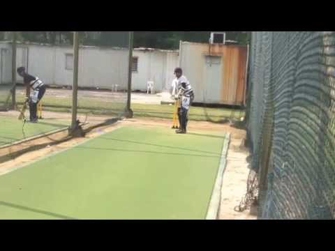 Cricket net practice session 1 ( Tamco warriors - Malaysia)