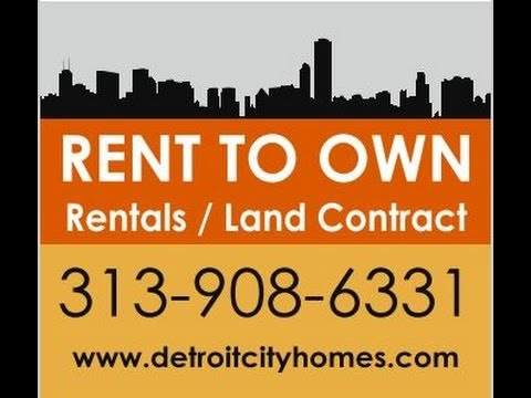 Detroit Rent to Own for only $3,500 Down, DetroityCityHomes WD17311