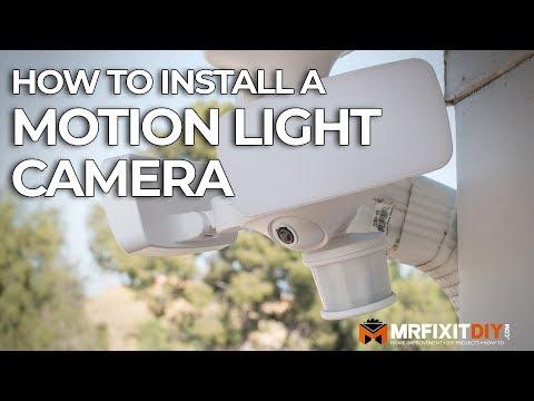 How to Install a Camera Motion Light