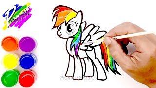 1215 Draw Rainbow Dash Video Playkindleorg
