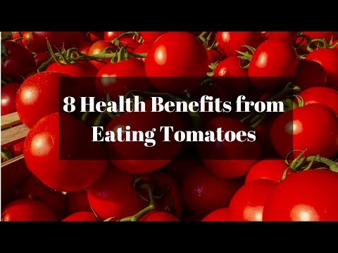 8 Health Benefits from Eating Tomatoes||Food bank
