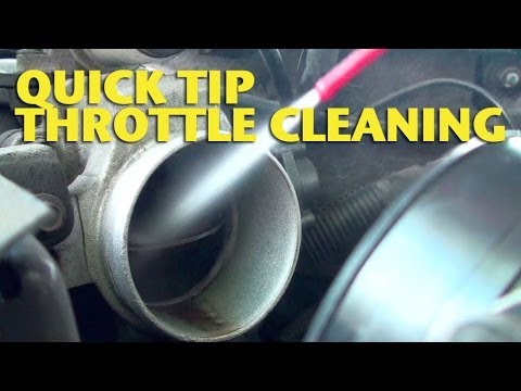 Quick Tip-Throttle Cleaning - EricTheCarGuy