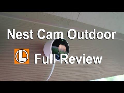 Nest Outdoor Security Camera Review - Unboxing, Setup, Settings,Installation, Footage, Alexa